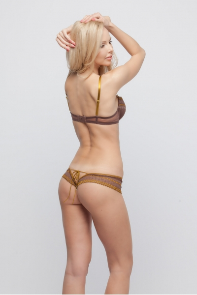 Трусы Forest fairy brown tanga