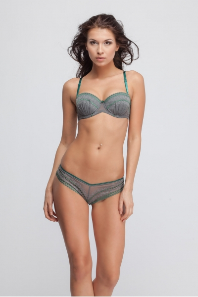 Трусы Forest fairy gray tanga