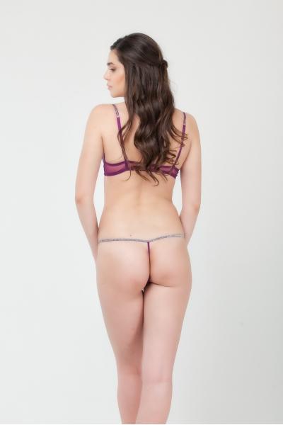 Трусы Purple Pearl string