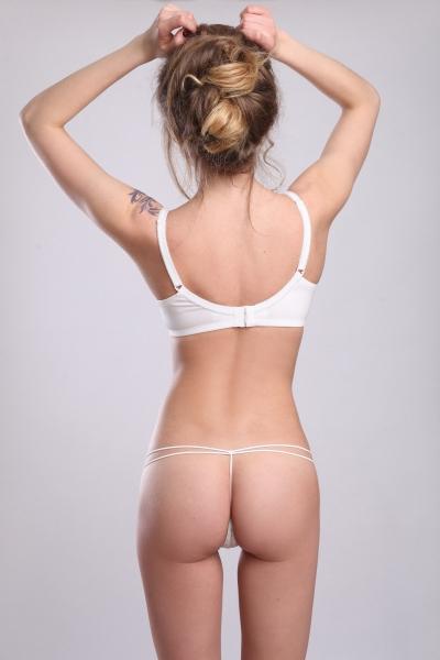 Трусы Garden White string