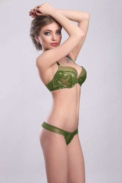Трусы Paris Green string