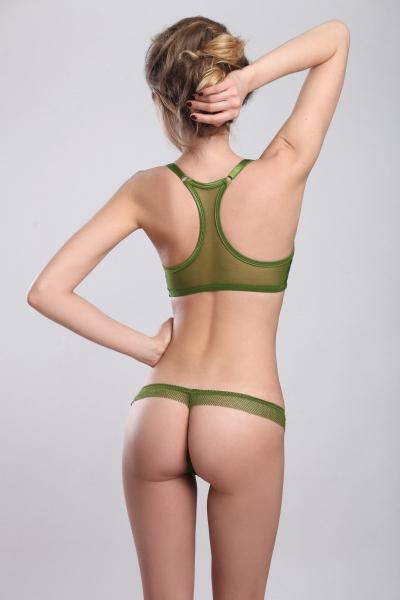 Трусы Paris Green string