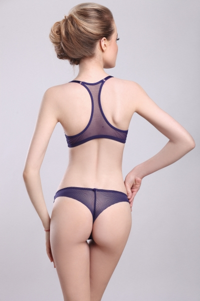 Трусы Paris Blue tanga