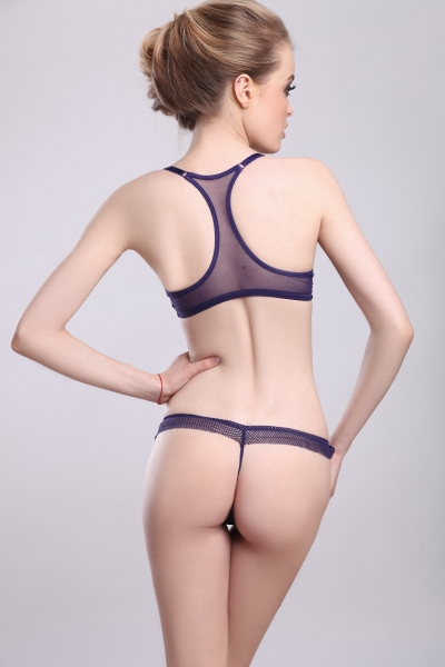 Трусы Paris Blue string
